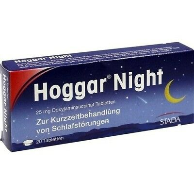 HOGGAR Night Tabletten 20 St 04402066
