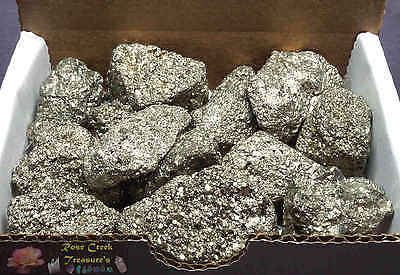 Iron Pyrite Collections 12 Oz+ Chispa Crystal Fools Gold