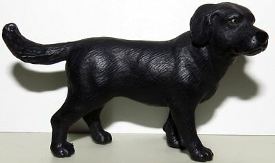 Schleich Black Lab Labrador Retriever Dog Figure