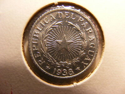 Paraguay 50 Centavos, 1938, Choice Uncirculated