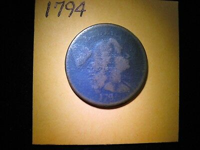 1794 Liberty Cap Large Cent  Free Shipping