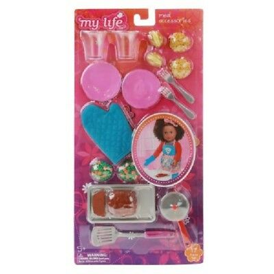 My Life As Dinner Time Kitchen Playset For 18 Inch Dolls American Girl Our Gen.
