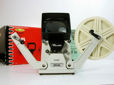Pro Minette SUPER 8 VIEWER W/Film Reel and Instructions Top Of the Line Viewer!