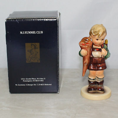 "M.I. Hummel Goebel #80 ""Little Scholar"" Double Crown TMK 1 in Box"