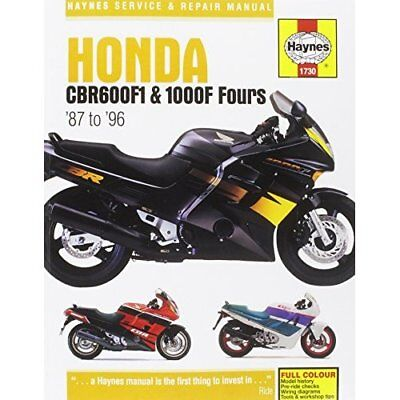 Honda cbr600f4 cbr600 1999 2006 haynes manual 3911 new 1639 honda cbr600f1 service and repair manual haynes servic paperback new 2014 12 fandeluxe Choice Image
