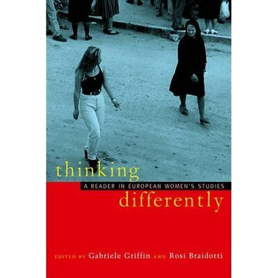 Thinking Differently: A Reader in European Women's Stud - Paperback NEW Griffin,
