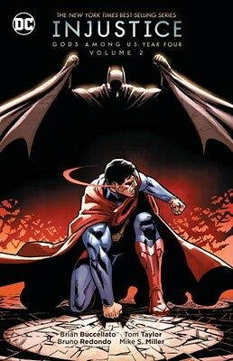 INJUSTICE GODS AMONG US YEAR FOUR VOL 2, Buccellato, Brian, 97814...