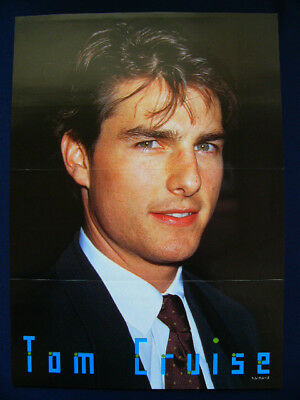 1990s Tom Cruise Japan PIN UP POSTER VERY RARE