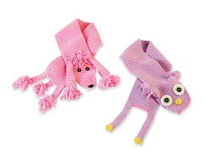 Mud Pie Baby OWL SCARF 173096 Knit Wits Collection