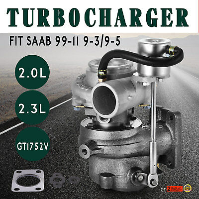 Turbocharger GT1752S 452204 5955703 9172123 SAAB 9-3 9-5 B205E B235E Ship