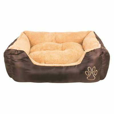 Luxury Pet Bed Soft Comfy Dog Cat Puppy Kitten Warm Sleeping Winter Polyester