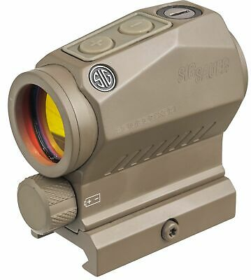 OPMOD Sig Sauer Romeo5 XDR 1x20mm Compact Red Dot Sight, 2 MOA Dot/65 : SOR52112