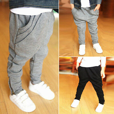 Infant Clothes Boys/Girls Harem Long Jogger Pants Trousers Leggings Bottoms 2018