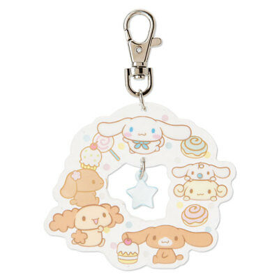 Sanrio Japan Cinnamoroll Friend Acrylic Key Holder Keychain