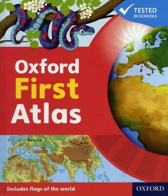 Oxford First Atlas (Hardcover), Wiegand, Patrick, 9780198487852