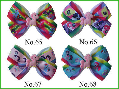 """100 BLESSING Good Girl Boutique 4/"""" Double  Hair Bow Clip 270 No Hairbow"""