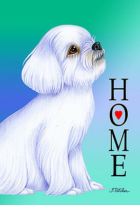 Large Indoor/Outdoor Home (TP) Flag - Maltese 62041