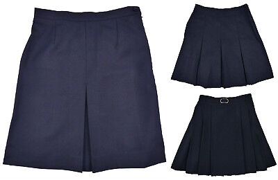 Girls Navy Blue School Skirts Older ages 10 years up to 16 years