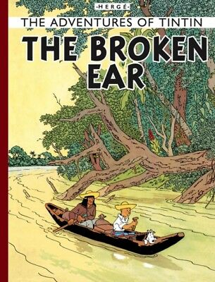 The Broken Ear (The Adventures of Tintin) (Hardcover), Herge, 9781405208055