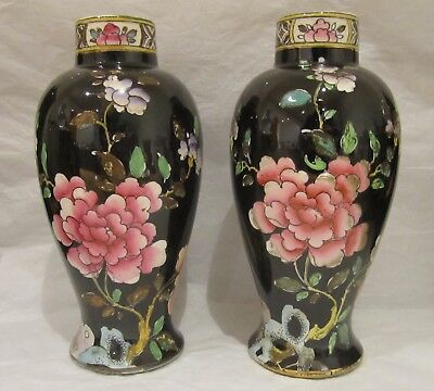 A Pair Of Wood & Sons 'Sheraton' Vases Designed by Frederick Rhead