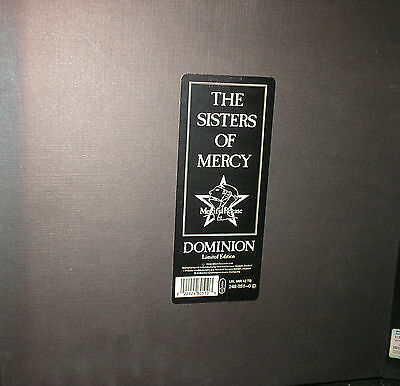 Sisters Of Mercy - Dominion - 1 LP Box - mit großem Poster - limited Edition