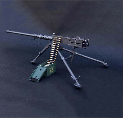 1/6 Scale M2HB Model US Army 50 CAL. Figure Soldier Toys Military Metal Weapon