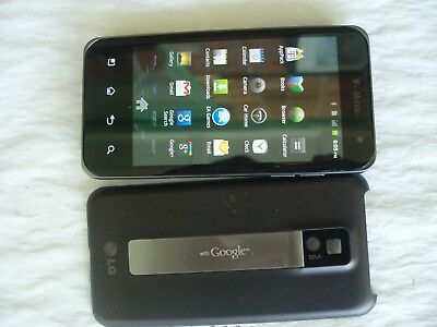 LG G2x P999 - 8GB - BLACK (T-MOBILE NETWORK) SMARTPHONE.EXCELLENT CONDITION.