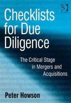 Checklists for Due Diligence (Paperback), Howson, Peter, 97805660...