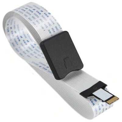 4 x CAT6a RJ45 Keystone Jack Socket Wall Patch Panel Modular surface Mount WHT