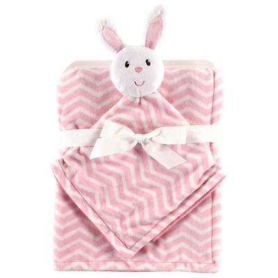 Hudson Baby Plush Security Blanket Set Bunny 30 X 40IN Cotton Polyester NEW