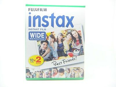 1 x FUJI INSTAX WIDE FILM 20 PACK FOR 200, 210 & 300 By 1st CLASS ROYAL MAIL