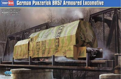 Hobby Boss German Panzerlok BR57 Armoured Locomotive Zug 1:72 Bausatz 82922