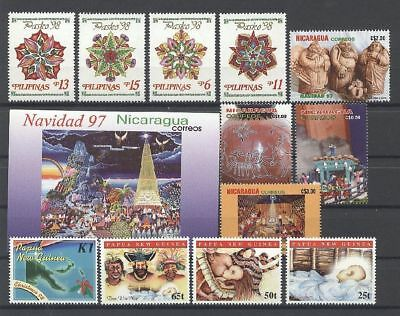 Weihnachten, Christmas - LOT ** MNH 1998