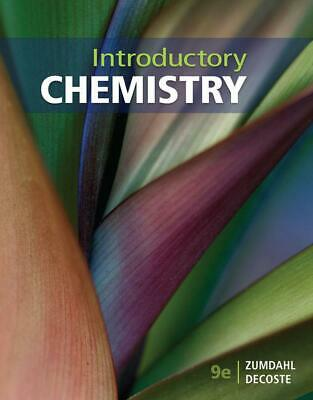Introductory Chemistry 9th Edition by Steven Zumdahl (English) Paperback Book Fr