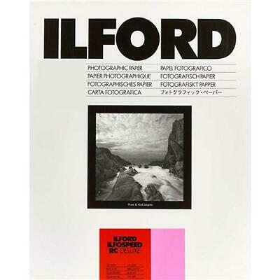 Ilford Ilfospeed RC Deluxe B/W Enlarging Paper, 8x10in #1612738