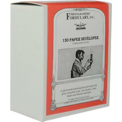 Photographers' Formulary 130 Paper Developer, Makes 4Lt Stock Solution #02-0090