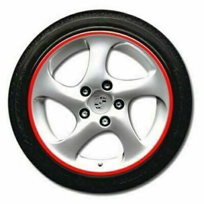 16 Strips Lots Reflective Motorcycle Car Rim Stripe Wheel Decal Tape Sticker PSB