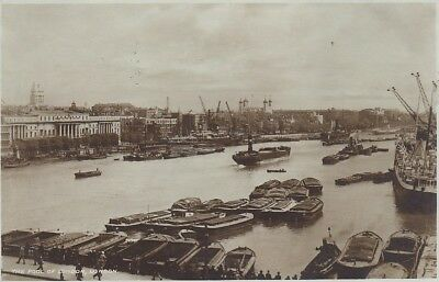 The Pool of London From London Bridge ngl E1887