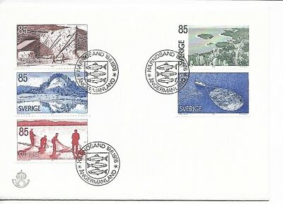 Sweden 1976 Tourism FDC