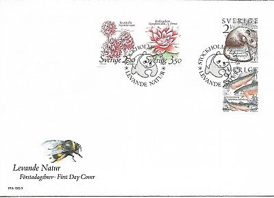 Sweden 1985 Nature FDC