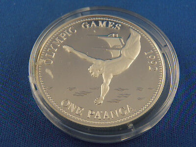Tonga One Pa anga 1991  PP Turmspringen  Olympische Spiele 1992  Silber