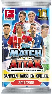 Match Attax 2017/2018 17/18 - 25 Booster/ 125 Karten - OVP