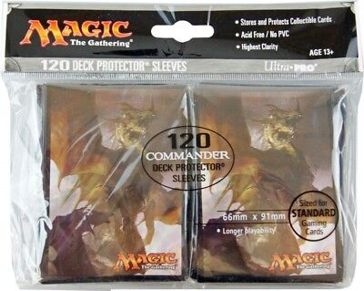 120 Commander 2017 Magic MtG Sleeves - Ultra Pro (66x91mm)