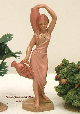 "Fontanini Depose Italy Retired 4"" Judith Nativity Village Figure New"