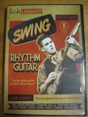 lick library Swing rhythm guitar Dan Smith  includes TABS