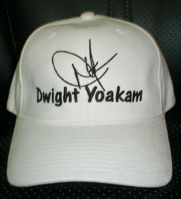 Dwight Yoakam Cap / Hat With Stitched Autograph
