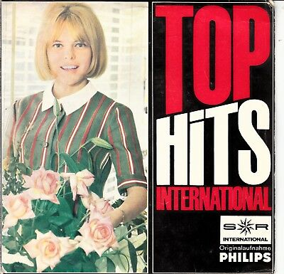 """7""""-  Ep -  Top Hits International - France Gall - Vicky Leandros - Dorthe"""