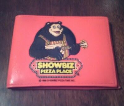 Showbiz Pizza Place Wallet Dated 1986 Billy Bob