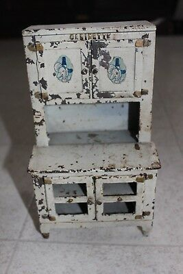 Vintage Cast Iron Toy LOT - cabinet  Arcade Mfg. Antique