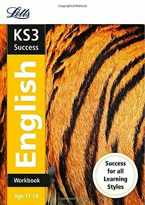 KS3 English Workbook (Letts KS3 Revision Success) by Letts KS3 Book The Cheap